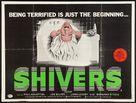 Shivers - British Movie Poster (xs thumbnail)