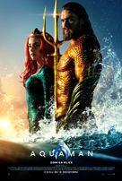 Aquaman - Slovenian Movie Poster (xs thumbnail)