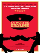 The Death of Stalin - French Movie Poster (xs thumbnail)