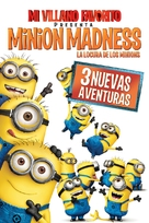 Despicable Me Presents: Minion Madness - Argentinian DVD cover (xs thumbnail)