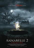 Annabelle: Creation - Norwegian Movie Poster (xs thumbnail)