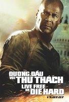 Live Free or Die Hard - Vietnamese Movie Poster (xs thumbnail)