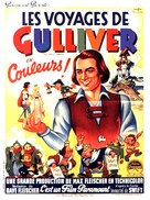 Gulliver's Travels - French Movie Poster (xs thumbnail)