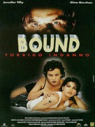 Bound - Italian Movie Poster (xs thumbnail)