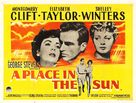 A Place in the Sun - British Movie Poster (xs thumbnail)