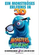 Monsters vs. Aliens - Swiss Movie Poster (xs thumbnail)