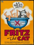 Fritz the Cat - French Movie Poster (xs thumbnail)