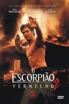 Red Scorpion 2 - Brazilian DVD cover (xs thumbnail)