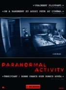 Paranormal Activity - French Movie Poster (xs thumbnail)