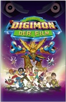 Digimon: The Movie - German DVD cover (xs thumbnail)