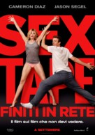 Sex Tape - Italian Movie Poster (xs thumbnail)