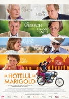 The Best Exotic Marigold Hotel - Romanian Movie Poster (xs thumbnail)