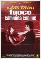 Twin Peaks: Fire Walk with Me - Italian Movie Poster (xs thumbnail)