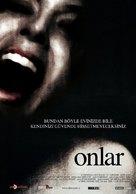 Ils - Turkish Movie Poster (xs thumbnail)