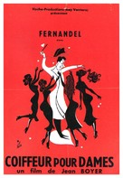 Coiffeur pour dames - French Movie Poster (xs thumbnail)