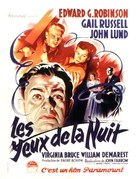 Night Has a Thousand Eyes - French Movie Poster (xs thumbnail)