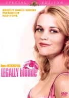 Legally Blonde - DVD cover (xs thumbnail)