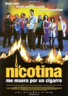 Nicotina - Spanish Movie Poster (xs thumbnail)