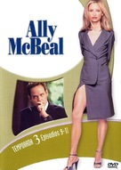 """Ally McBeal"" - Spanish DVD movie cover (xs thumbnail)"