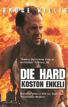 Die Hard: With a Vengeance - Finnish VHS movie cover (xs thumbnail)