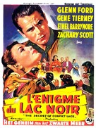The Secret of Convict Lake - Belgian Movie Poster (xs thumbnail)