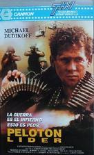 Platoon Leader - Argentinian VHS movie cover (xs thumbnail)