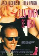 Man Trouble - Spanish Movie Poster (xs thumbnail)