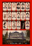 The Grand Budapest Hotel - Czech Movie Poster (xs thumbnail)