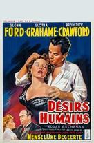 Human Desire - Belgian Movie Poster (xs thumbnail)