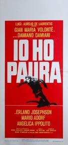 Io ho paura - Italian Movie Poster (xs thumbnail)