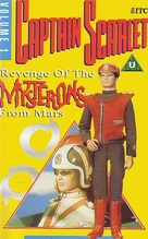 """""""Captain Scarlet and the Mysterons"""" - British DVD movie cover (xs thumbnail)"""