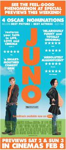 Juno - British Movie Poster (xs thumbnail)
