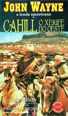 Cahill U.S. Marshal - Brazilian VHS cover (xs thumbnail)