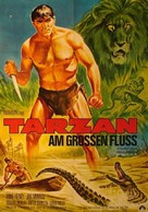Tarzan and the Great River - German Movie Poster (xs thumbnail)