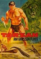 Tarzan and the Great River - German Movie Poster (xs thumbnail)