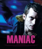 Maniac - Japanese Blu-Ray movie cover (xs thumbnail)