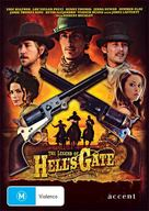 The Legend of Hell's Gate: An American Conspiracy - Australian DVD cover (xs thumbnail)