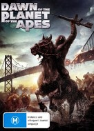 Dawn of the Planet of the Apes - Australian DVD movie cover (xs thumbnail)