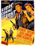 Saddle the Wind - French Movie Poster (xs thumbnail)