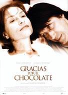 Merci pour le chocolat - Spanish Movie Poster (xs thumbnail)