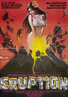 Supervixens - German Movie Poster (xs thumbnail)