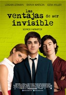 The Perks of Being a Wallflower - Chilean Movie Poster (xs thumbnail)