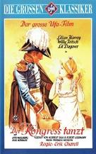Der Kongreß tanzt - German VHS movie cover (xs thumbnail)