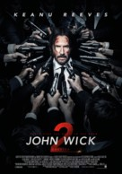John Wick: Chapter Two - Swiss Movie Poster (xs thumbnail)