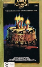 Bloody Birthday - Australian VHS cover (xs thumbnail)