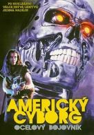 American Cyborg: Steel Warrior - Czech DVD cover (xs thumbnail)