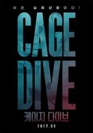 Cage Dive - South Korean Movie Poster (xs thumbnail)