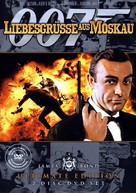 From Russia with Love - German DVD movie cover (xs thumbnail)