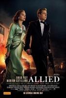 Allied - Australian Movie Poster (xs thumbnail)