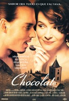 Chocolat - Brazilian Movie Poster (xs thumbnail)